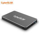 CyberSLIM S25U31 2.5吋硬碟外接盒 黑色 7mm Type-C USB3.1 免工具