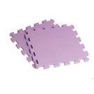 【新生活家】EVA素面巧拼地墊-紫色32...