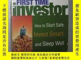 二手書博民逛書店英文原版罕見The First Time Investor by