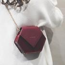 鍊條包 高級感小包包女新款洋氣女包2021百搭斜挎鍊條時尚法國小眾包 歐歐