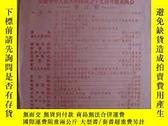二手書博民逛書店罕見慶祝中華人民共和國成立十九週年聯歡晚會節目單14673