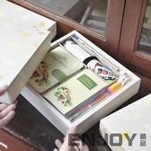 雙12狂歡購 日式手帳本禮盒套裝小清新計劃本手賬本日程本創意筆記本文具禮物