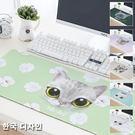 滑鼠墊 桌墊 多功能桌墊 工作墊 辦公用品 收納墊 辦公室收納 日韓設計款 大頭貓滑鼠桌墊
