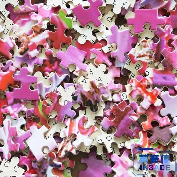 木質拼圖1000片成人減壓兒童益智力卡通動漫玩具拼图【英賽德3C數碼館】