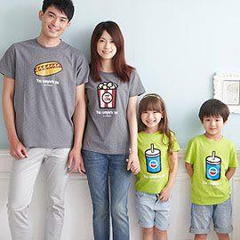 【MIT親子裝】電影套餐系列全棉T恤【小孩】
