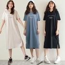 MIUSTAR MILANO側開衩連帽棉...