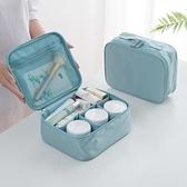 ins網紅化妝包小號便攜韓國簡約旅行大容量多功能收納盒洗漱包女