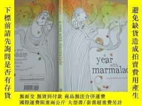 二手書博民逛書店a罕見year with marmalade(繪圖本)Y1950