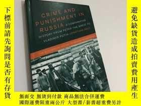 二手書博民逛書店Crime罕見and Punishment in Russia: