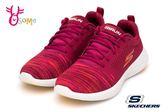 SKECHERS GO RUN 600 瑜珈鞋墊 女款 輕量回彈 慢跑鞋 Q8240 #紅◆OSOME奧森鞋業