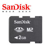 Sandisk M2 記憶卡 2G