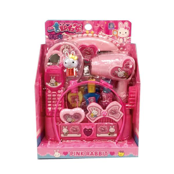 TAI SING 粉紅兔梳妝台 玩具反斗城