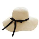 時尚夏日遮陽草帽 可折疊沙灘遮陽帽13