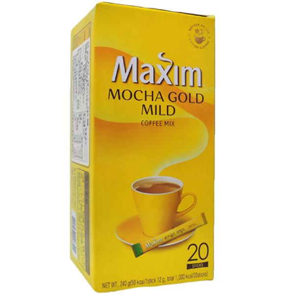 韓國 Maxim 摩卡咖啡(12gx20入)【小三美日】即溶咖啡