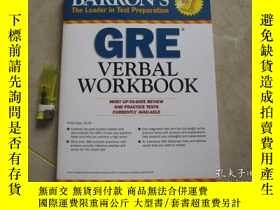 二手書博民逛書店GRE罕見Verbal Workbook 平裝Y16690 Ph