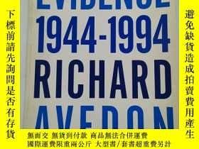 二手書博民逛書店Richard罕見Avedon Evidence 1944 -