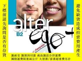 二手書博民逛書店Alter罕見Ego + 4: Livre Eleve + CD-ROM (French Edition) [ B