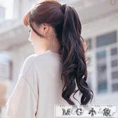 假髮  可愛蓬鬆隱形無痕馬尾辮子假發