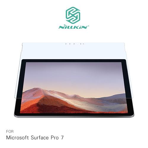 摩比小兔~NILLKIN Microsoft Surface Pro 7 Amazing V+ 抗藍光玻璃貼 保護貼
