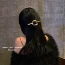 發簪冷淡風洗臉盤發簡約現代韓式頭飾挽發一字簪子丸子頭發飾 智慧 618狂歡