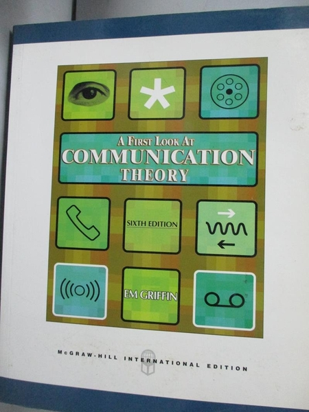 【書寶二手書T2/大學資訊_XDY】Communication Theory 6/e_Griffin