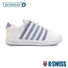 K-SWISS Court Pro S WP 防水時尚運動鞋-女-白/紫