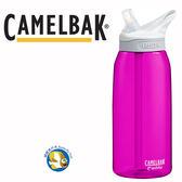 Camelbak eddy 1000cc  多水吸管水壺 杜鵑紅, 100%總代理正品