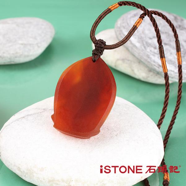 觀音項鍊-抱心觀音 紅玉髓 石頭記