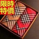 手帕 禮盒-學院風與眾不同典型純棉質方巾男配件2款57r20[時尚巴黎]