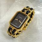 【雪曼國際精品】Chanel H0001香奈兒首映系列premiere手錶M尺寸~二手商品(9.3成新)