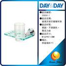 day&day日日家居生活精品 2005C-1 水晶玻璃牙刷牙膏單杯架