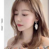 耳環S925銀針韓國度假網紅超仙氣質耳墜小眾高級感耳環女耳釘長款耳飾衣間迷你屋