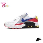 NIKE AIR MAX EXCEE 中童 運動鞋休閒鞋 P7240#白紅◆OSOME奧森鞋業