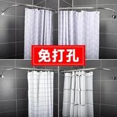浴室防水浴簾隔斷簾