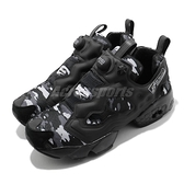 Reebok 休閒鞋 Instapump Fury Trail 黑 白 男鞋 女鞋 反光 運動鞋 【ACS】 FZ1286