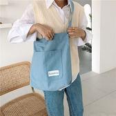 帆布袋 素色 帆布包 寬肩帶 手提袋 外袋 單肩包 休閒包 手提/單肩【SP99173】 BOBI  11/07