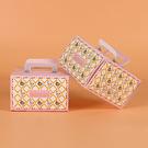 4吋 花朵蛋糕盒 附底托 外帶提盒 烘焙包裝 餅乾糖果紙盒 禮品包裝袋 乳酪盒 布丁蛋糕 派盒C036