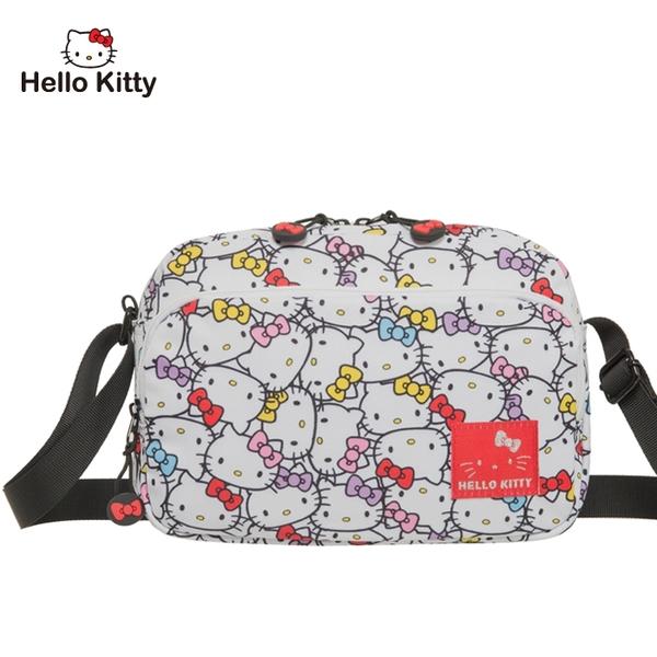【橘子包包館】Hello Kitty 繽紛凱蒂-側背包-白 KT01V02WT 斜背包