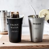 北歐風不鏽鋼水杯 304不鏽鋼 鹿角 造型 不鏽鋼杯 環保杯 水杯 隨手杯 隨行杯【RS959】