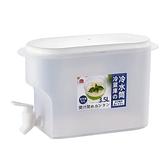 冰箱水壺冷水壺帶水龍頭涼水壺冰水桶夏天家用水果茶壺檸檬水瓶 雙十一狂歡
