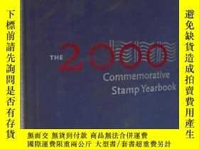 二手書博民逛書店The罕見2000 Commemorative Stamp Ye