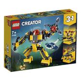 樂高 LEGO 31090 水底機器人
