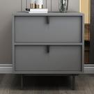 床頭櫃 床頭櫃置物架簡約現代輕奢床邊櫃小型收納櫃北歐風ins臥室小櫃子 2021新款