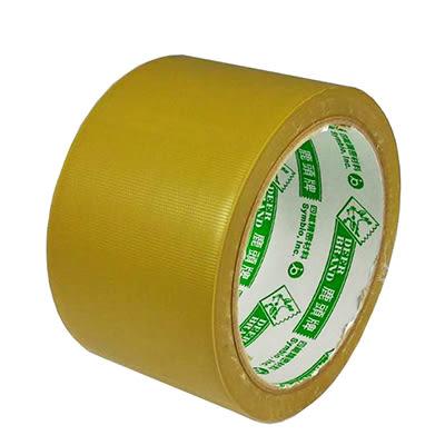 四維/鹿頭牌 2 1/2吋PVC可手撕布紋膠帶60mm x18m