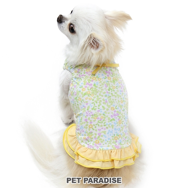 【PET PARADISE 寵物精品】Pretty Boutique  碎花和葉邊上衣(DSS/SS) 春季新品