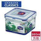 樂扣  PP保鮮盒-方型(860ml)【...