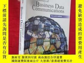 二手書博民逛書店Fundamentals罕見of Business Data Communications(Eleventh Ed