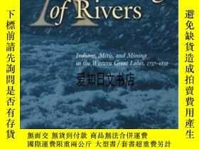 二手書博民逛書店【罕見】A Gathering Of Rivers: India