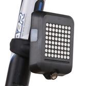 自行車燈智能感應轉向剎車激光尾燈USB充電