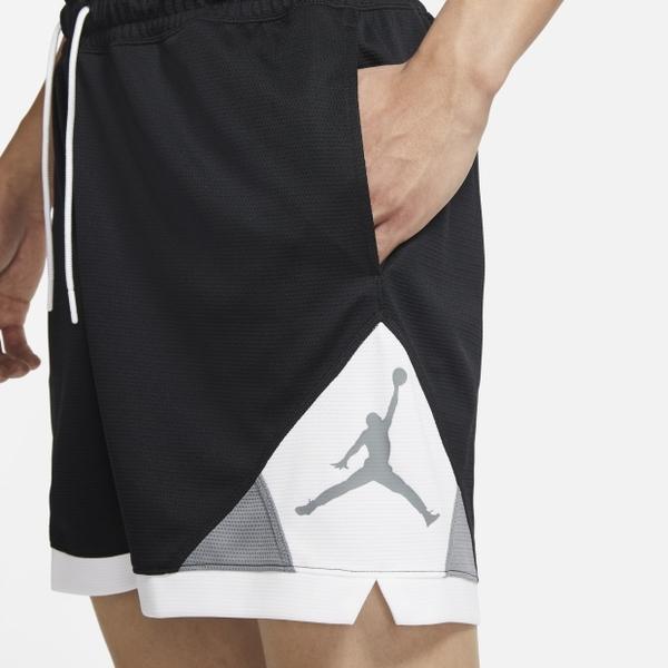 NIKE JORDAN DRI-FIT AIR 男裝 短褲 休閒 導濕 速乾 黑白【運動世界】CV3087-011